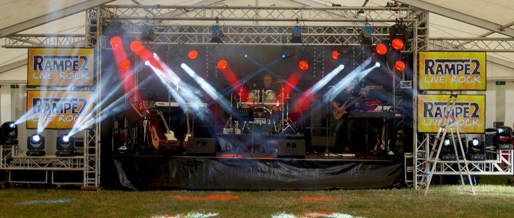 Rampe2 Live-Bühne